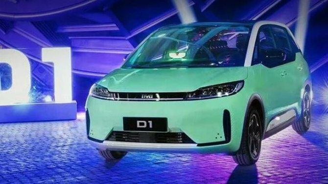 Фирма BYD представила новый электромобиль для такси