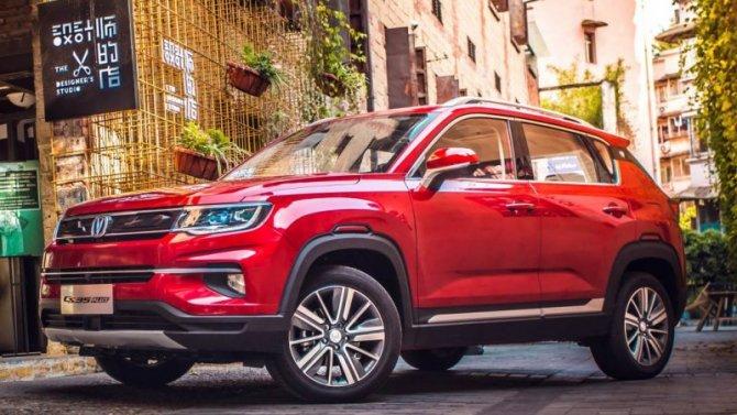 Российские продажи автомобилей Changan выросли почти вдвое