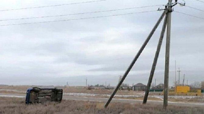 Двое детей пострадали в ДТП в Камышинском районе Волгоградской области