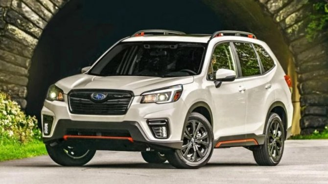 ВРоссии начали продавать новую версию Subaru Forester