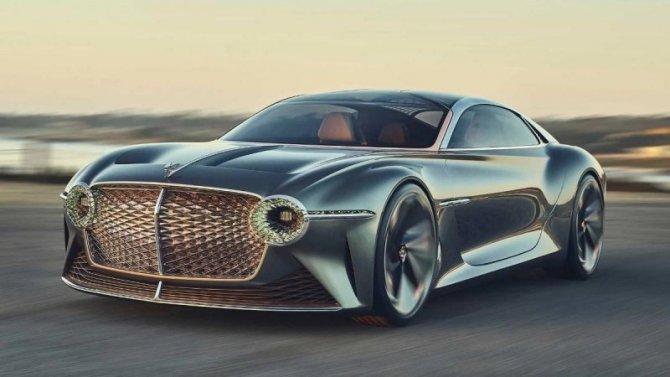 Bentley планирует полностью перейти навыпуск электромобилей