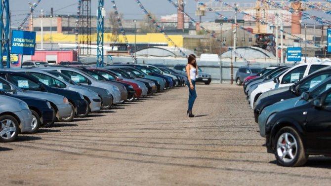 В России снизились продажи отечественных машин с пробегом