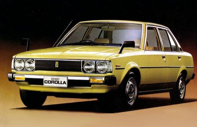 Toyota Corolla 4 поколение