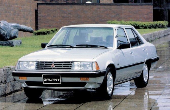 Mitsubishi Galant 4 поколение