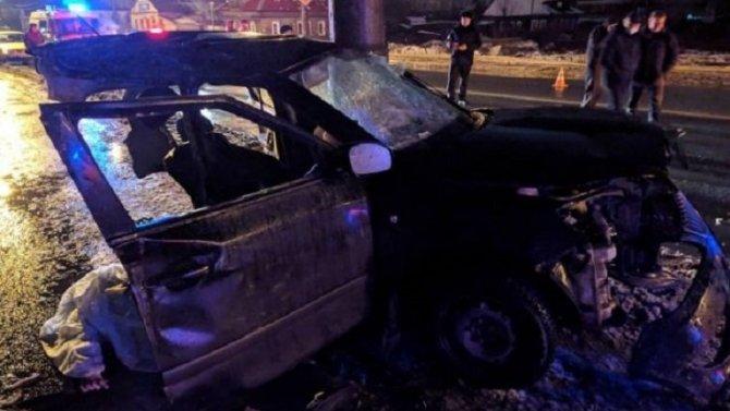 В Архангельске по вине пьяного водителя в ДТП погибли три человека