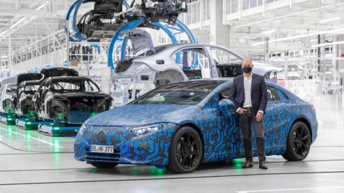 Электромобили Mercedes-Benz станут поистине глобальными