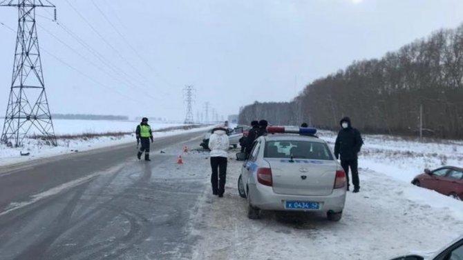 Два человека погибли в ДТП в Кемеровской области
