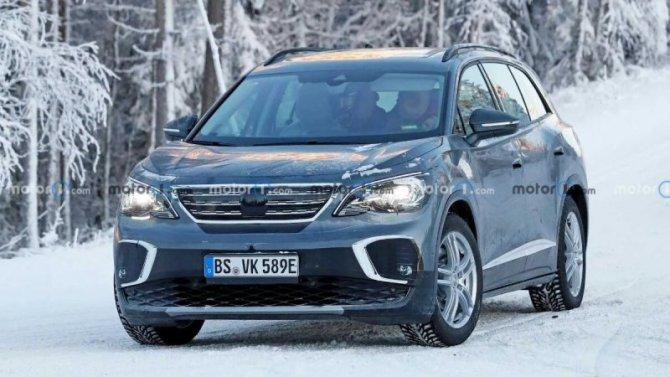 Надорогах вновь замечен электрокроссовер VolkswagenID.6