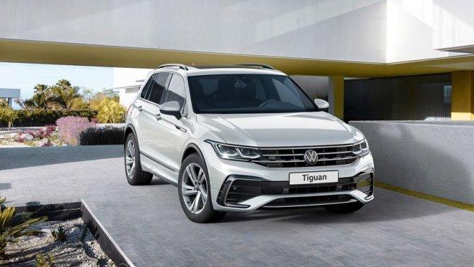 Новый Volkswagen Tiguan появится на российском рынке в декабре 2020 года