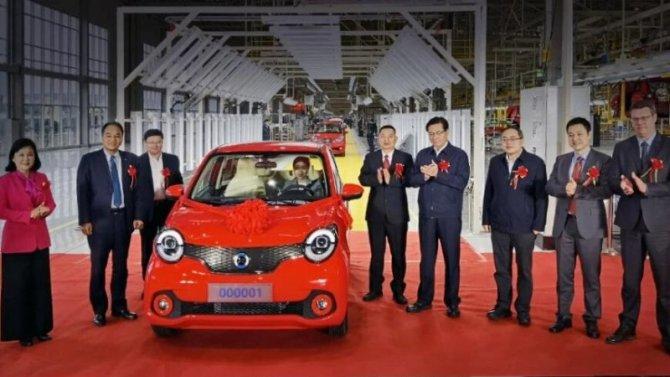 ВПоднебесной появился новый производитель электромобилей