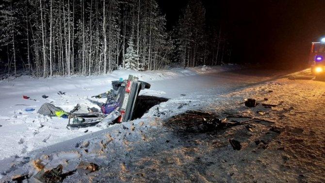 В ДТП в Карелии погибли двое мужчин