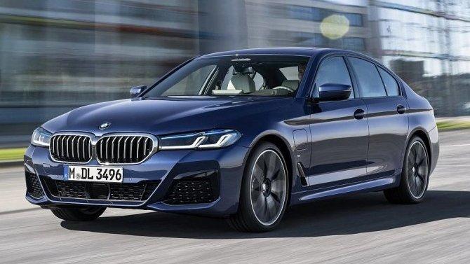 ВРоссии появился обновлённый BMW 5-Series