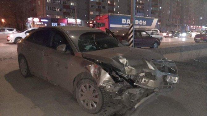 Двое взрослых и двое детей пострадали в ДТП в Рязани