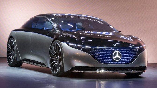 Mercedes-Benz EQS получит самую передовую электронику