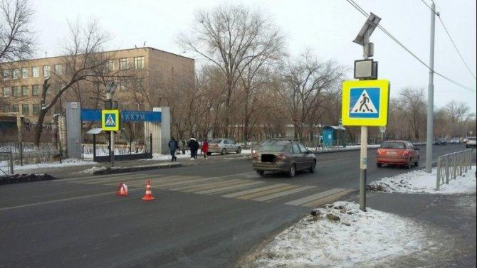 ВОренбурге «Лада» сбила 17-летнего пешехода