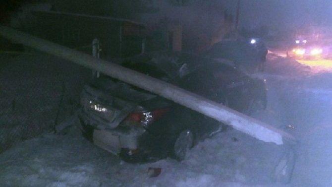 25-летний пассажир иномарки погиб в ДТП в Сернурском районе Марий Эл
