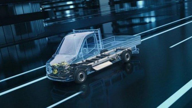 Mercedes-Benz представил новую платформу для электрических LCV