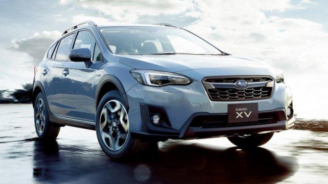 Начался экспорт обновлённого кроссовера SubaruXV
