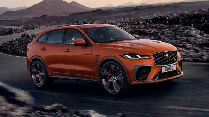Представлен обновлённый Jaguar F-Pace SVR