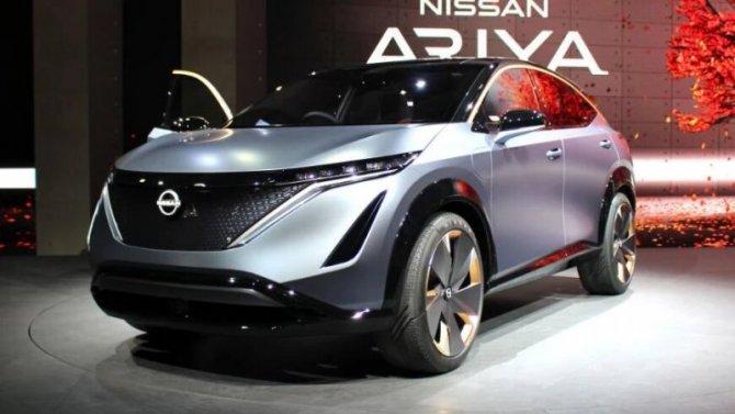 Nissan Ariya для Европы будет выпускаться вЯпонии