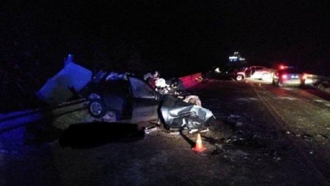В ДТП в Юрьянском районе Кировской области погибли три человека