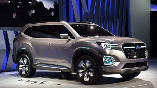 Выросли рублёвые цены наавтомобили Subaru