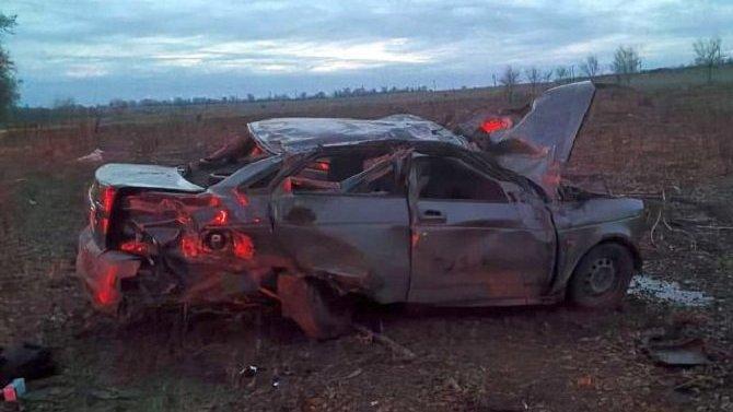 Два человека погибли в ДТП в Ростовской области