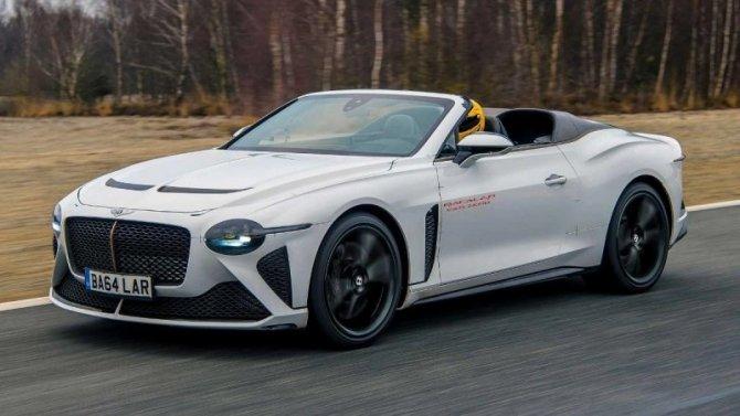 Кабриолет Bentley Bacalar выехал нафинальные испытания