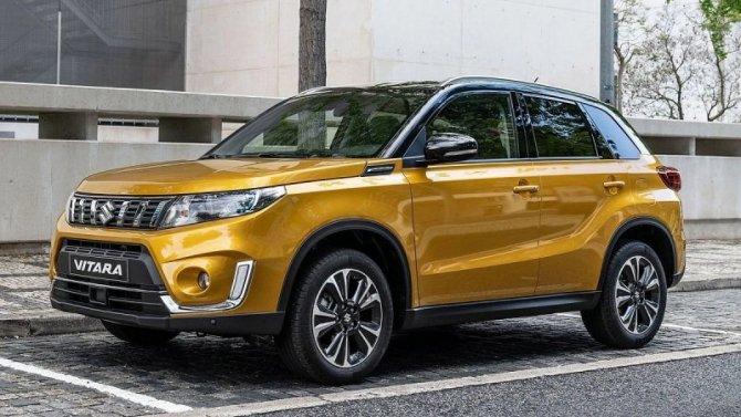 ВРоссию приедет новая версия Suzuki Vitara