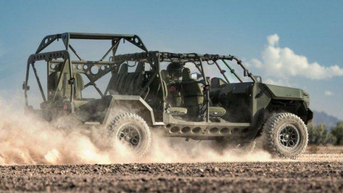 General Motors будет развивать линейку военных автомобилей