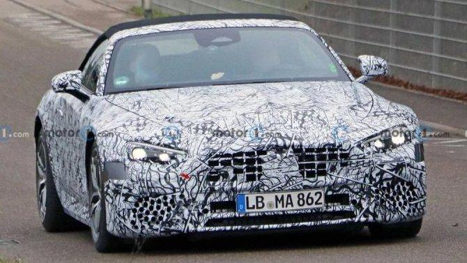 Начались испытания родстера Mercedes-BenzSL нового поколения