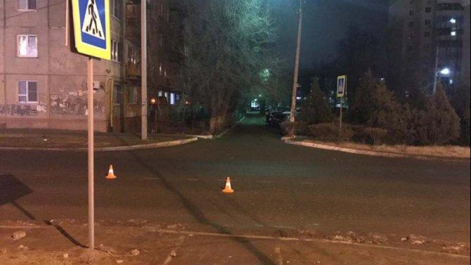 В Астрахани водитель сбил школьницу и скрылся