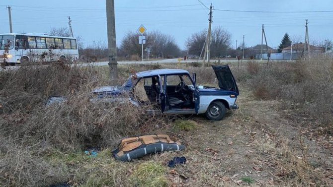 Двое детей пострадали в ДТП на Кубани по вине пьяного водителя