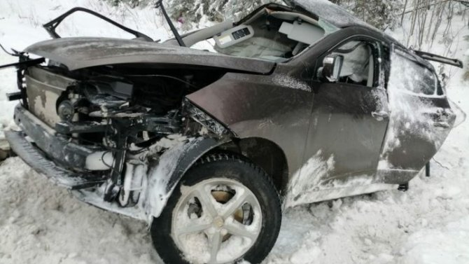 Семья из четырех человек погибла в ДТП в Тюменской области