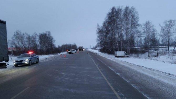 Беременная женщина погибла в ДТП под Новосибирском