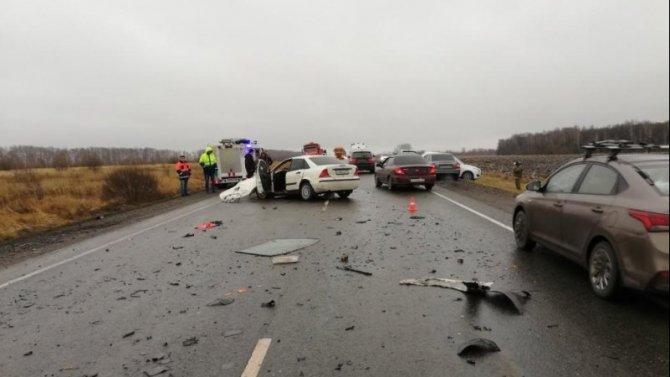 В ДТП в Веневском районе Тульской области погиб водитель