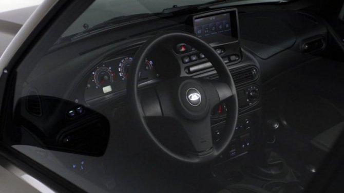 Опубликованы снимки салона новой Lada Niva