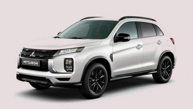 ВРоссию прибыла новая спецверсия Mitsubishi ASX