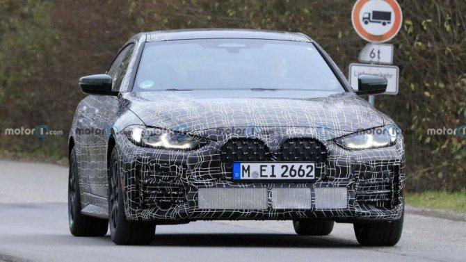 Начались испытания нового BMW 4-Series Gran Coupe
