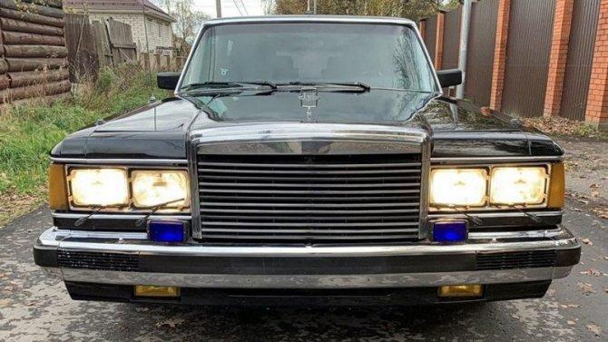 ВРоссии продаётся старый лимузин изправительственного гаража