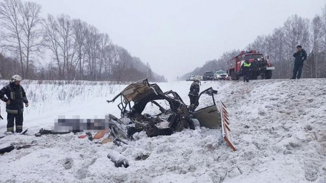 Три человека погибли в ДТП в Мошковском районе Новосибирской области