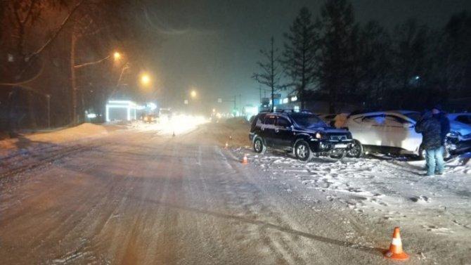 6-летняя девочка пострадала в ДТП в Новосибирске
