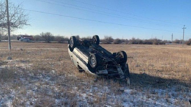 Водитель «Нивы» погиб в ДТП в Калачевском районе Волгоградской области