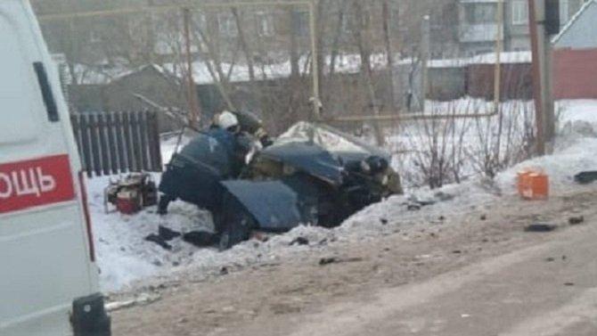 В результате ДТП в Татарске погиб человек
