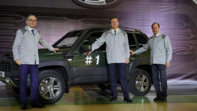«АвтоВАЗ» начал серийный выпуск новой Lada Niva
