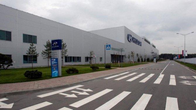 Насколько сократился объём производства нароссийском заводе Hyundai