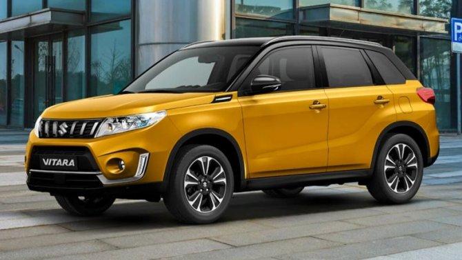 Выросли рублёвые цены наавтомобили Suzuki