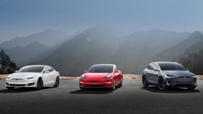 Электромобили Tesla получили настраиваемые рингтоны