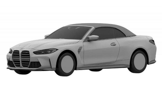 Представлены патентные изображения нового кабриолета BMW M4