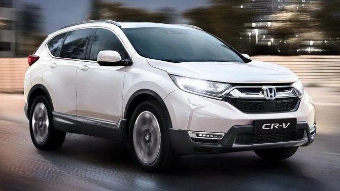 Обновлённая Honda CR-V получила гибридную версию